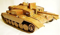 World war ii kampfpanzer leopard car reminisced handmade vintage model iron sheet iron decoration crafts decoration