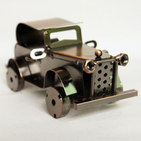 Iron classic cars model car decoration modern brief home decoration birthday gift male