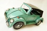 Antique model home decoration the beatles mini canducum webworm model iron car model