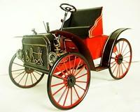 Vintage retro zaa FORD finishing classic cars model tin toys cars