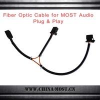 Car MOST Digital Media Audio Plastic fiber optic Cable plug & play, third device connector