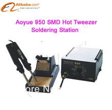 220V/110V SMD Hot Tweezer Soldering Station Aoyue 950, AOYUE950 touch welding instrument(China (Mainland))
