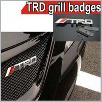 1 x Metal TRD Car Emblems Car Badge Emblems for Car  Free Shipping By China Post