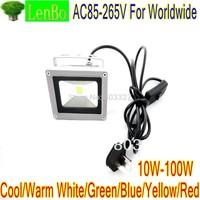 With on/off switch 10W 20W 30W 50W 100W LED Flood Light  110V 220V 240V Warm White High Power 9000LM Lights LW2