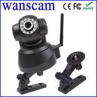 Wanscam Wholesale Wireless Free DDNS Motion Detection Dual Audio Remote Pan/Tilt Rotate Infrared Night Vision Network IP Camera