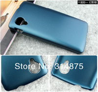 500pcs DHL Free Shipping Charming Color Luxury Color Hard Matte Case Cover For LG Nexus 5 E980