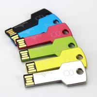 Free Shipping , Custom LOGO Metal Key USB Flash Memory Stick,USB Flash Pen Drive Disk  2GB 4GB 8GB 16GB 32GB(Promotional Gift)