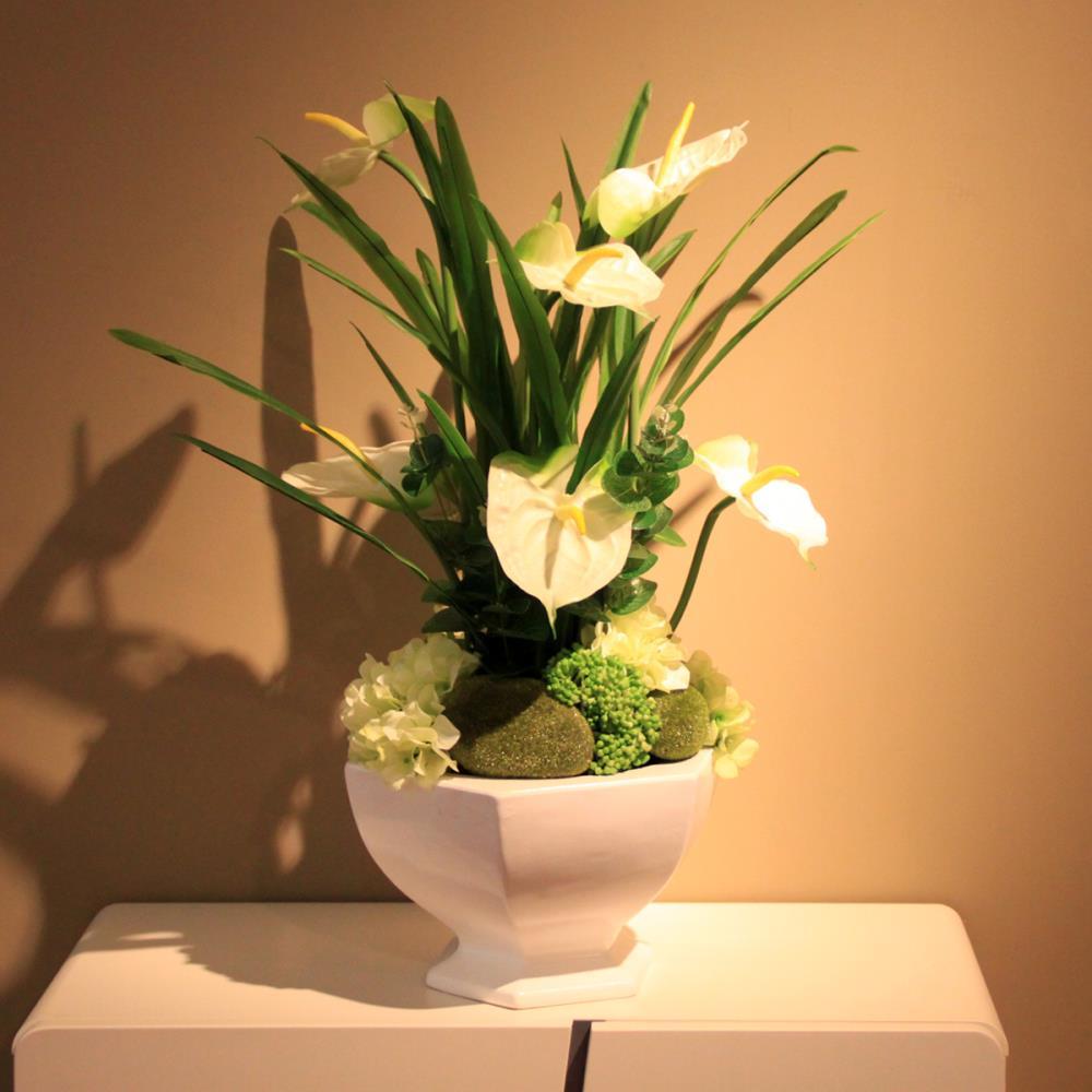 Dining Table Flower Pot Decoration~ Kit Decoracao Sala De Estar