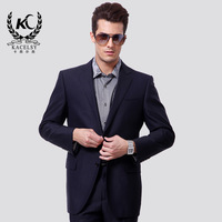 Kacelsy 2013 business casual male suit set fashion male slim wool suit jacket