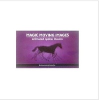 Magic animation book magic moving images animated optical illusion magic book