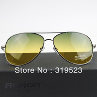 2014 Hot!!!!! Authentic Men's Sunglasses Brand Sunglasses Send Night Vision Driving Glasses Polarized Sunglasses Driving Uv400