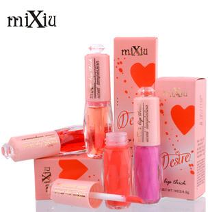 1210 mixiu lábios vermelhos do licopeno gloss tinta rosa bebê(China (Mainland))