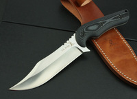 2014-A4 high quality Deer head hunting dog shrimp large outdoor survival knife camping knife