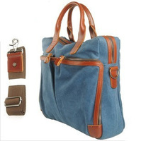 Hot Selling 2014 Boys Girls Canvas Shoulder Bags Fashion students Messenger Bag Computer Bags Briefcases Bags