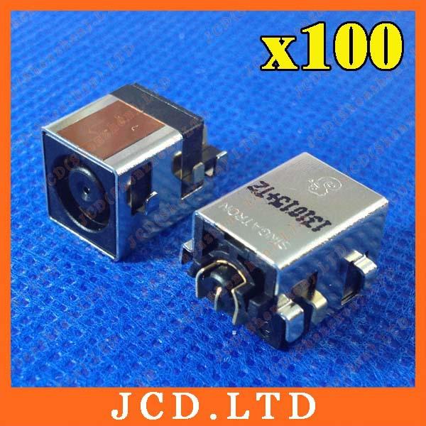 100X DC Jack for For HP Compaq Business Notebook NC8430 NW8440 NW9440 NX7300 NX7400 NX8420 NX9410 NX9420 NX9420FF(China (Mainland))