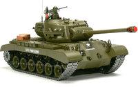 RC 1:16 U.S MEDIUM TANK M26 PERSHING with Sound and Smoke / Metal Belt / metal gear box & metal wheel /  3838-1 Upgrade version