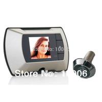 "DIY 2.2"" Digital Door Peephole Viewer Camera 2.2"" Monitor Wholesale, free shipping #170160"