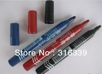 Free shipping! promotion! hot sales! permanent marker, black, blue, red color can be choosing, for office school or home use