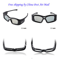 Cheapest  Active 3D DLP LINK Lcd Shutter Glasses For 3D Ready DLP Projector+Free shipping