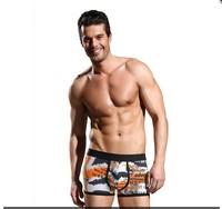 wholesale/retail JINSHI Men's male Cotton Paisley Underwear Sexy Pouch Comfortable Briefs Short free shipping