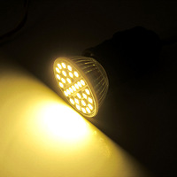 9 Pcs/lot 5W 220V E27 Warm White Energy-saving 29SMD 5050 LED 500lm Spot Light Lamp Bulb LED0261