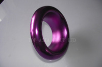 102mm 4 inches Alloy purple Air Inlet Intake Ram Pipe Funnel Ducting Duct