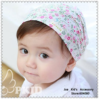 Fashion Baby Printing Flower Wide Headband,Children Cotton Elastic Hair Bows,Baby Hair Accessories,FS061+Free Shipping