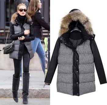 2014 Мода пуховик зима куртка женщин, зимнее пальто женщин зима цвет пальто женщин ...