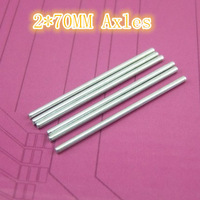 Diameter  2mm length 70mm Toy axles, steel shaft, connecting axle  20pcs/lot free  shipping