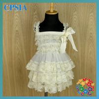 2014 Best-Selling Lace Girls Petti Dresses Baby Christmas Cothes Ruffled Petti Princess Dresses 24pcs/lot
