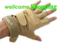 Blackhawk Tactical Half Finger Assault Gloves Tan