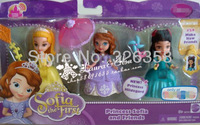 Pricness doll,Sofia The First,Princess Sofia and Friend/Sofia play with her sister and new friend/mini doll+free shipping