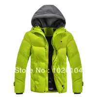 Free Shipping New 2013 Famous brand Big wadded jacket super thickening thermal type Increased thickening cotton coat