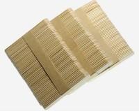 wholesale  100pcs/lot  150*18*1.7mm  Wood toys Early educational toys Wooden block Math sticks Ice cream sticks  free  shipping