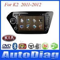 Android Car DVD For KIA K2 GPS 2011-2012 with Digital TV/IPOD/Bluetooth Car GPS For K2 KIA DVD Radio