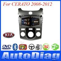 Android Car DVD For KIA CERATO GPS 2008-2012 with Digital TV/IPOD/Bluetooth Car GPS For CERATO KIA DVD Radio