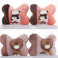 Free shipping the original NICI stuffed rhubarb dog doll authentic plush cartoon animal  car headrest pillows