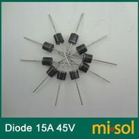 Free Shipping 10pcs/lot 15A 45V Schottky Diode, SCHOTTKY BARRIER RECTIFIER, for solar panel DIY
