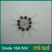 Free Shipping 10pcs/lot - 10A 50V Schottky Diode, SCHOTTKY BARRIER RECTIFIER, for solar panel DIY
