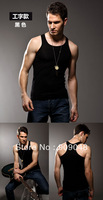 7030 Men's Tank Modal Sweat Breathable Fit Vest Cotton Black Gray White L XL XXL Free Shipping