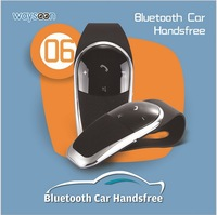New Arrival Bluetooth Car Headset, Bluetooth Protocol 4.0 Handsfree Automatic Speech Bluetooth Car Headset  a25