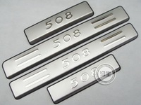2011-2012 Peugeot 508 High quality stainless steel Scuff Plate/Door Sill