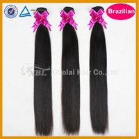 Brazilian hair 3pcs/lot 5A+ free shipping for virgin brazilian straight hair