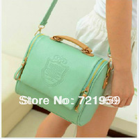 2013 candy color fashion vintage handbag cross-body women's handbag one shoulder bag  free  shipping