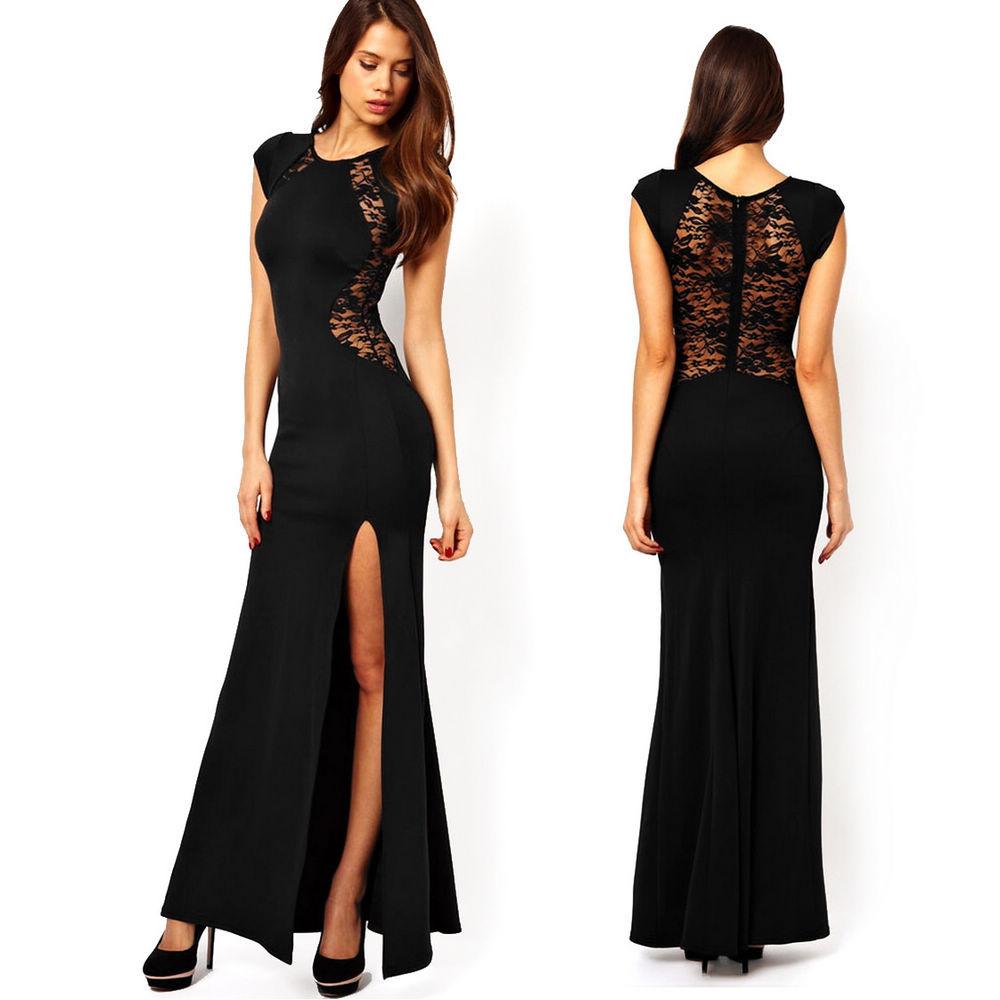 Женские вечерние длинные платья