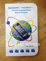 Free shipping explosion -proof tempered glass  screen protective Film For iPhone 5 5S 5C With Retail Package