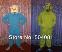 Adventure time with Finn and Jake women lady Lounge Pajamas All in One Pyjama Suits For adult Cosplay Costumes