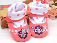 KB13110610 2013 New spring and autumn new female baby pink socks Toe shoes toddler baby shoes,baby footwear