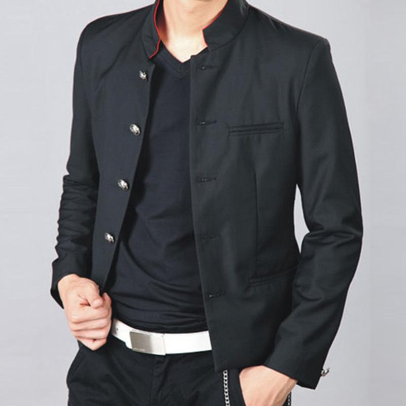 Tuoyi hommes vêtements masculins lys uniforme scolaire mâle tunique ...