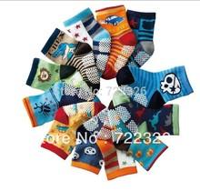 12pairs/lot wholesale free shipping New Cute Baby Socks/Kid boy Slip-resistant Cartoon Floor Socks 1-3 Years boy socks(China (Mainland))